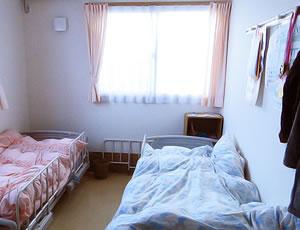 寝室二人部屋
